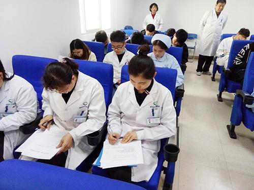 """青岛安宁医院开展""""三基三严""""应知考试"""